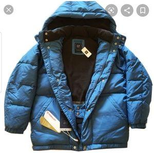 Baby Gap warmest fur trim hood parka jacket coat 4